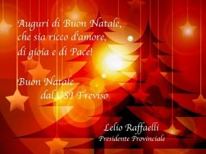 Sereno Natale dal CSI Treviso
