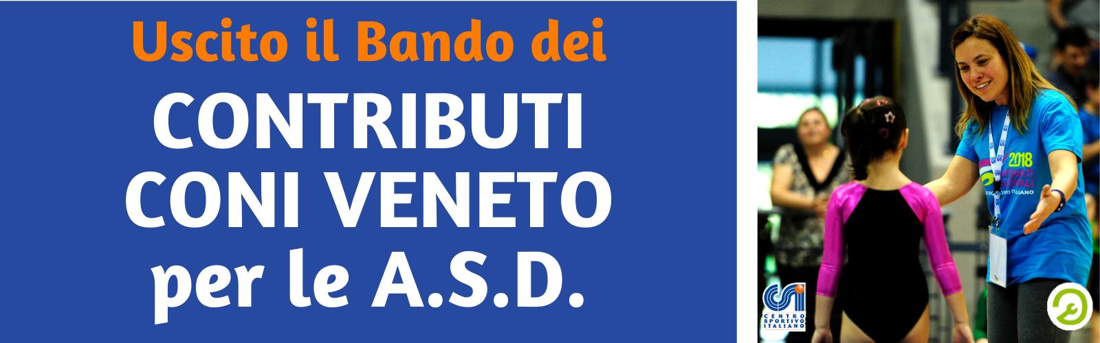 Contributi CONI alle ASD del Veneto