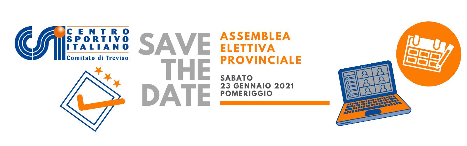 Sabato 23 gennaio torna l'Assemblea Elettiva del CSI Treviso
